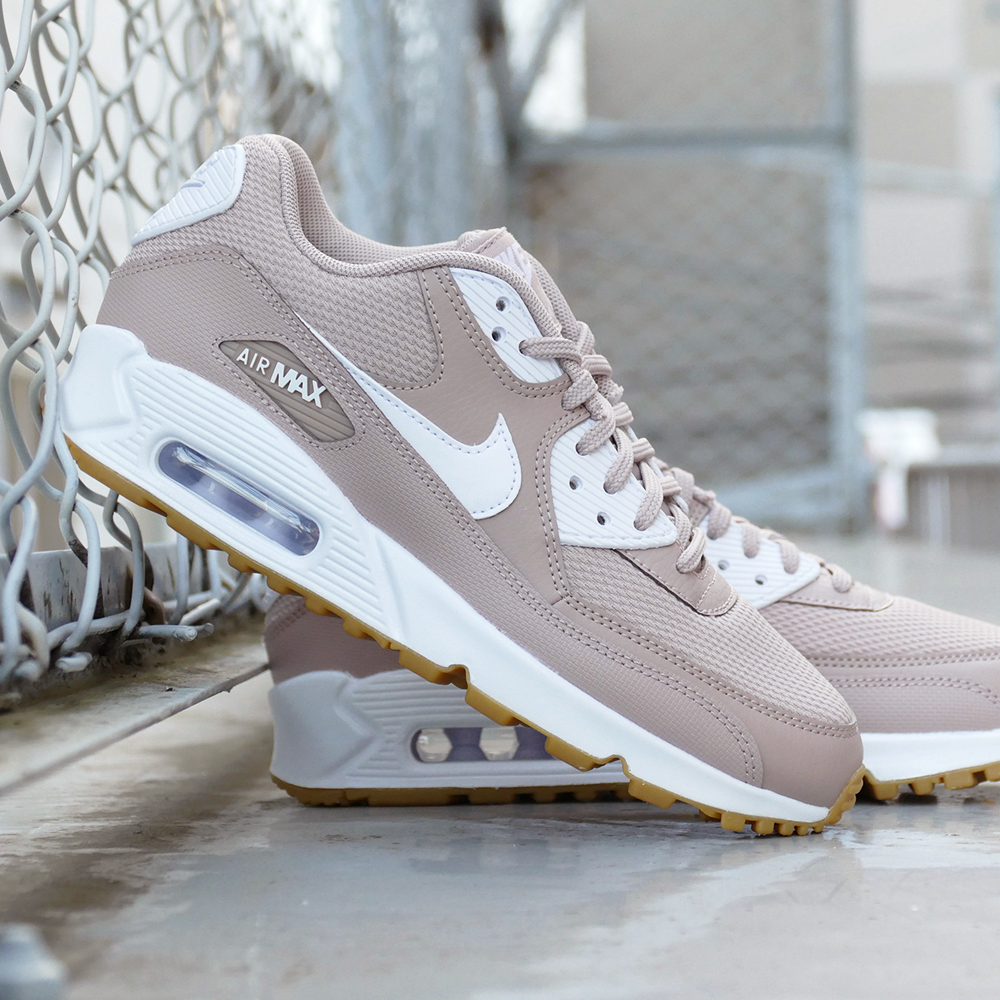 Sneakers Nike NIKE women Air Max 90 AIR MAX pink / white men gap Dis shoes shoes 18FA