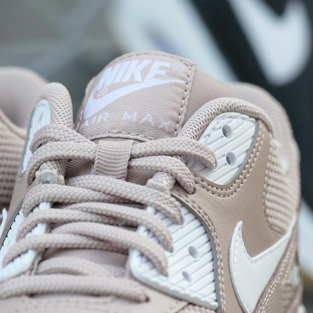 スニーカー ナイキ NIKE ウィメンズエアマックス90 AIR MAX ピンクベージュ/ホワイト メンズ レディース シューズ 靴 18FA