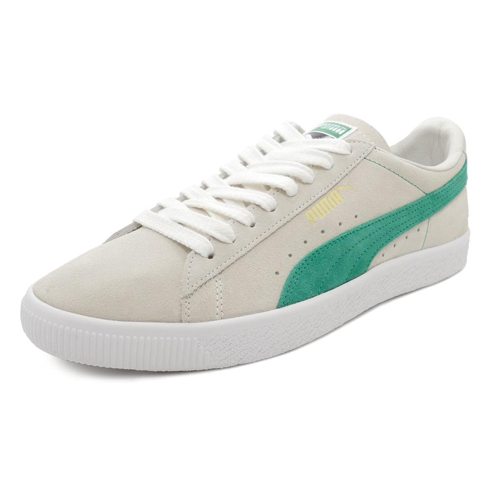 スニーカー プーマ PUMA スウェード90681 ホワイト/グリーン メンズ レディース シューズ 靴 18FA