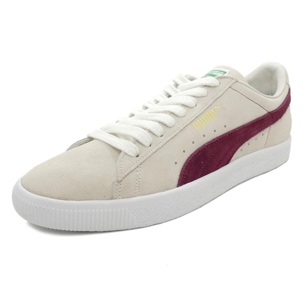 スニーカー プーマ PUMA スウェード90681 ホワイト/ポメグラネイト メンズ レディース シューズ 靴 18FA