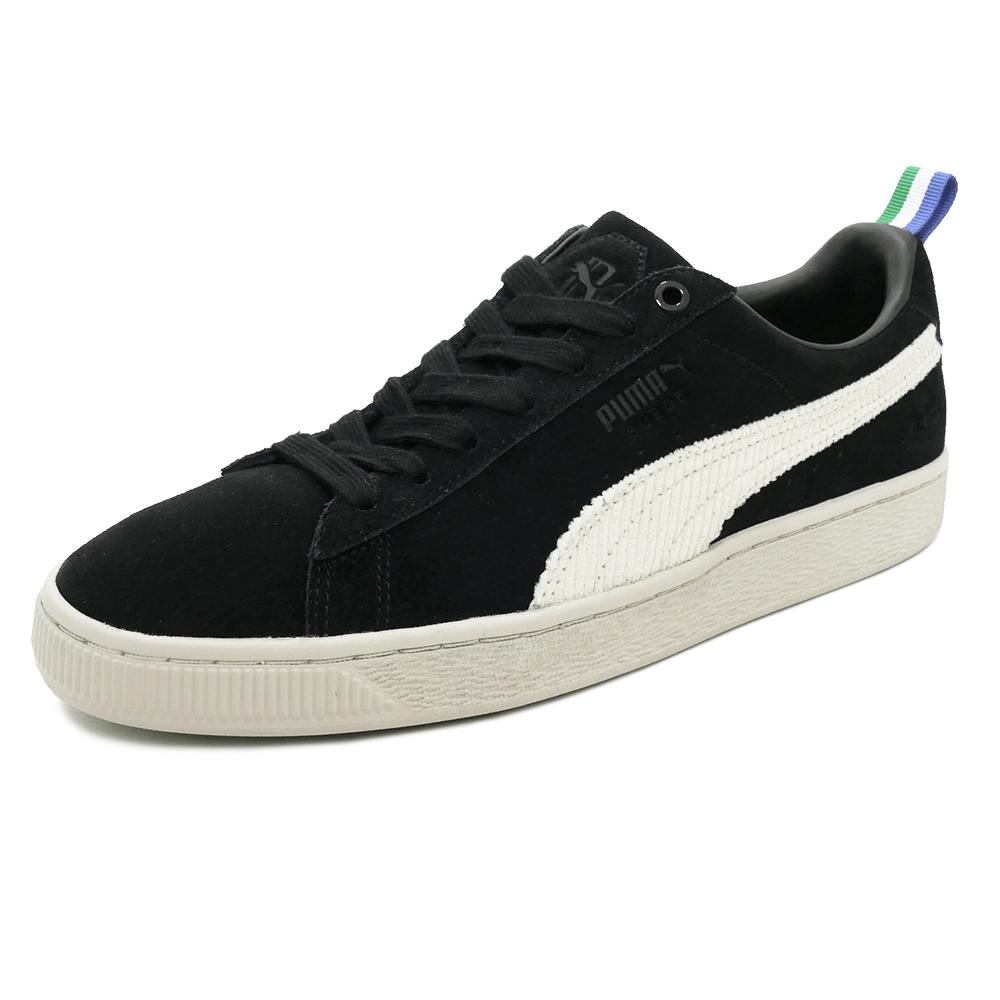 スニーカー プーマ PUMA スウェード ブラックホワイト ビックショーン ブラック/ホワイト メンズ レディース シューズ 靴 18FA