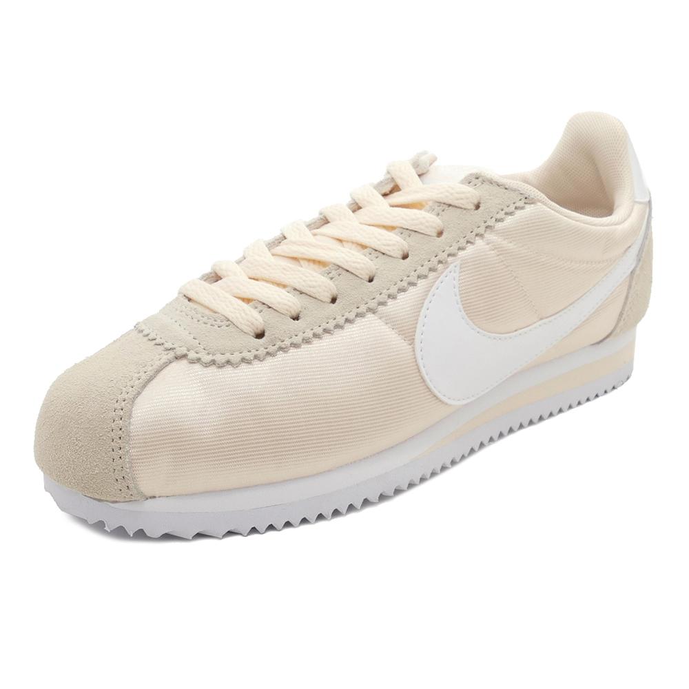 スニーカー ナイキ NIKE ウィメンズクラシックコルテッツナイロン グアバアイス/ホワイト メンズ レディース シューズ 靴 18FA