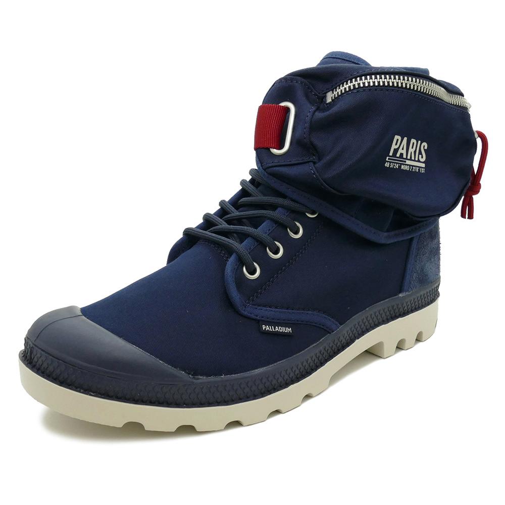 スニーカー パラディウム PALLADIUM PAMPA SOLID RANGER PAR ネイビー メンズ レディース シューズ 靴 18AW