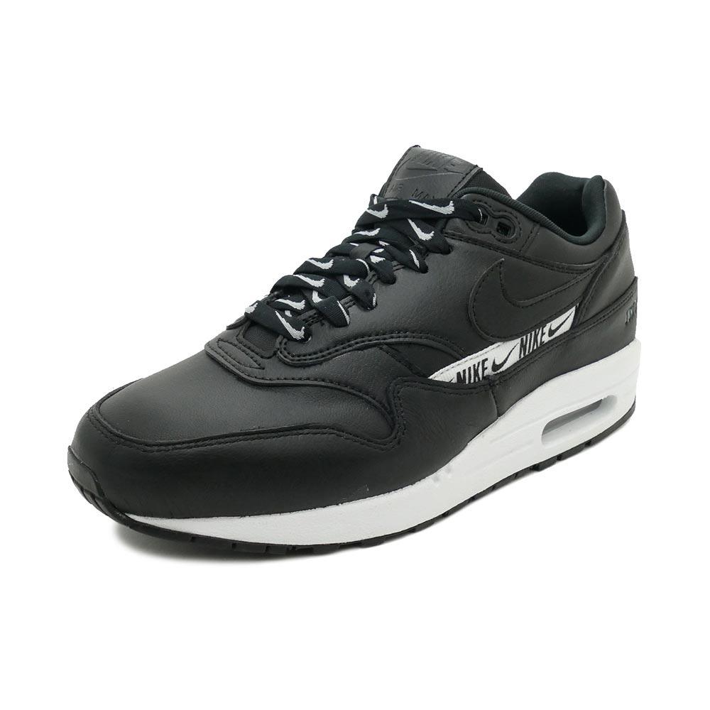 スニーカー ナイキ NIKE ウィメンズエアマックス1SE ブラック/ホワイト メンズ レディース シューズ 靴 18HO