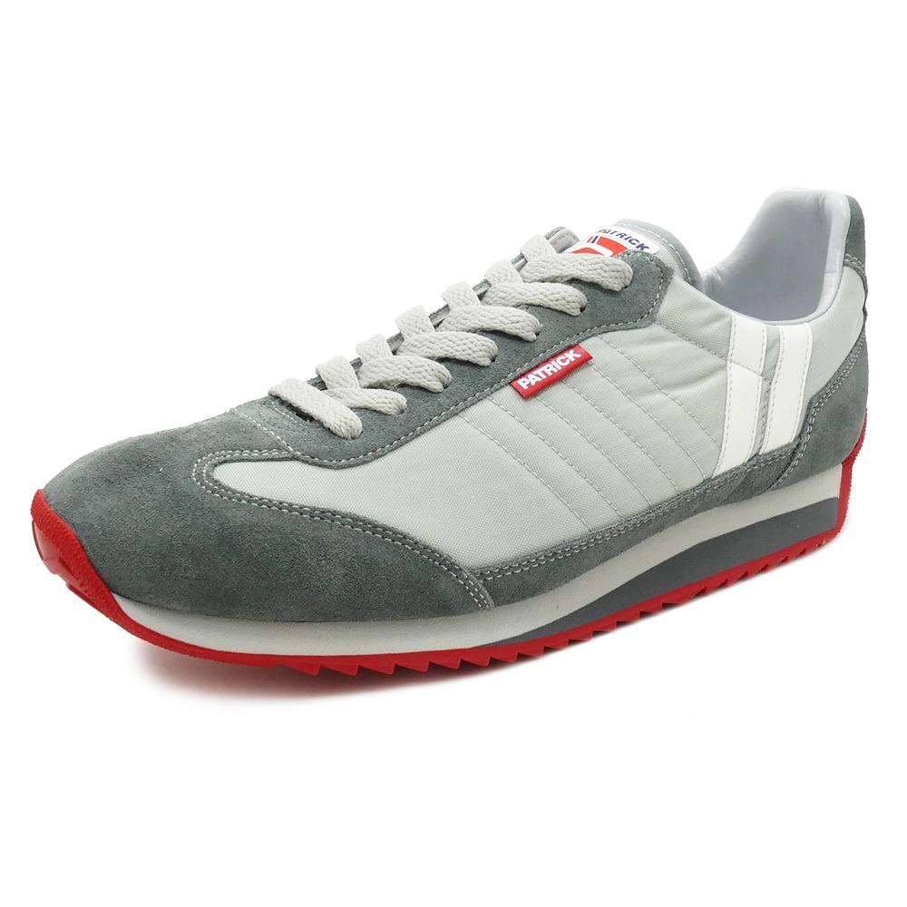 スニーカー パトリック PATRICK マラソンP-GRY グレー メンズ レディース シューズ 靴 18SS