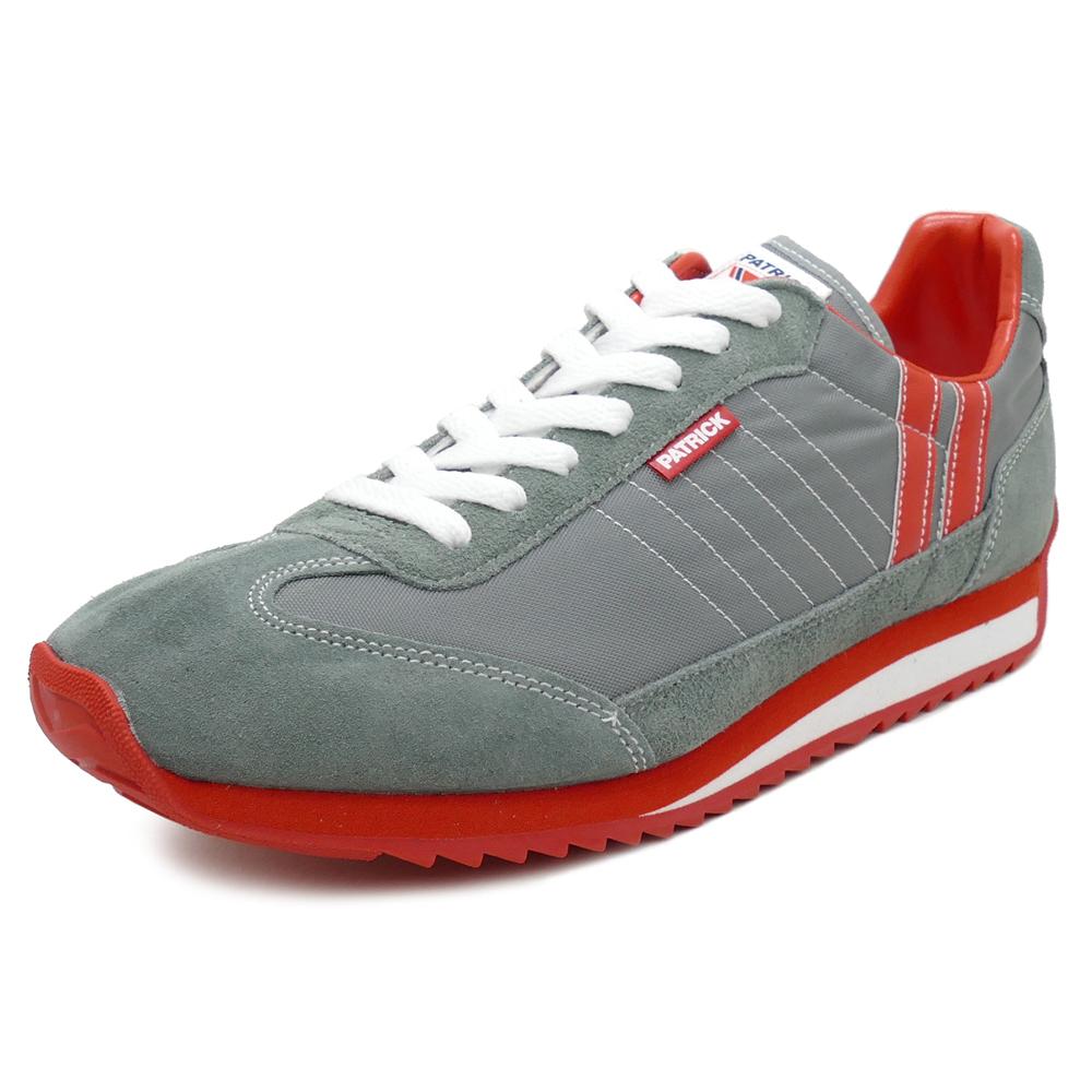 スニーカー パトリック PATRICK マラソン グレー 9624 メンズ レディース シューズ 靴