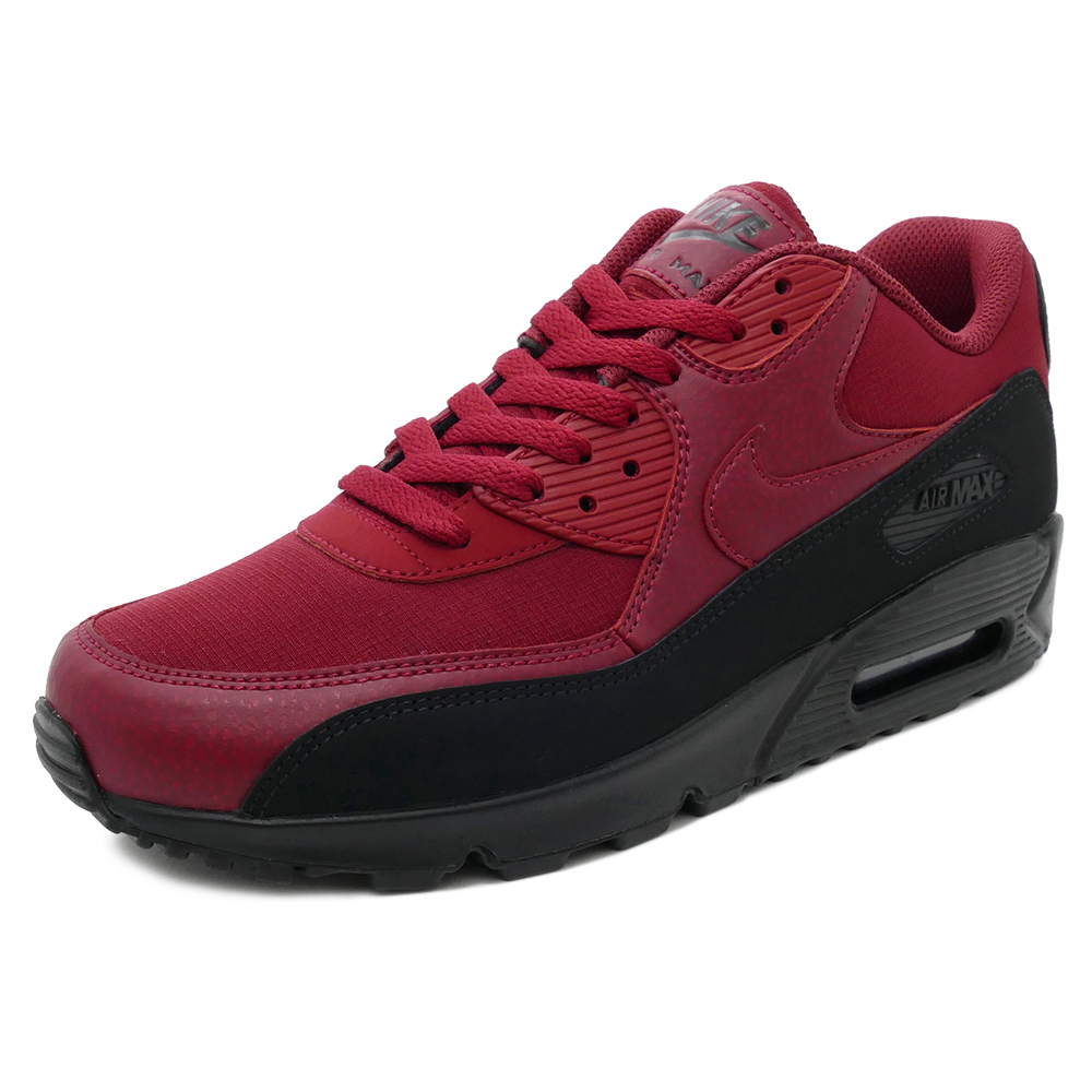 best website 476b5 e300a sale air max 90 mid winter gym red black 9bcc2 b92d3  low price sneakers nike  nike air max 90 essential red black men gap dis shoes shoes