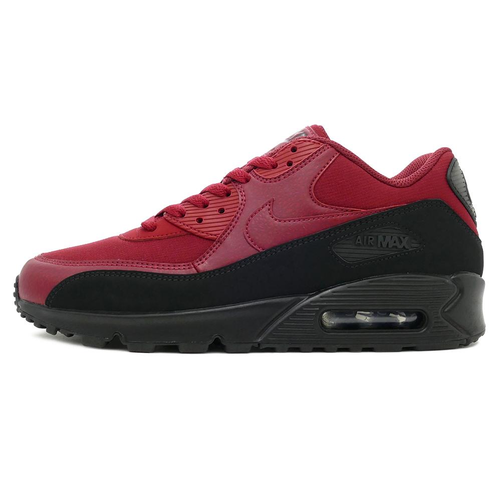 9df37404de ... low price sneakers nike nike air max 90 essential red black men gap dis shoes  shoes ...
