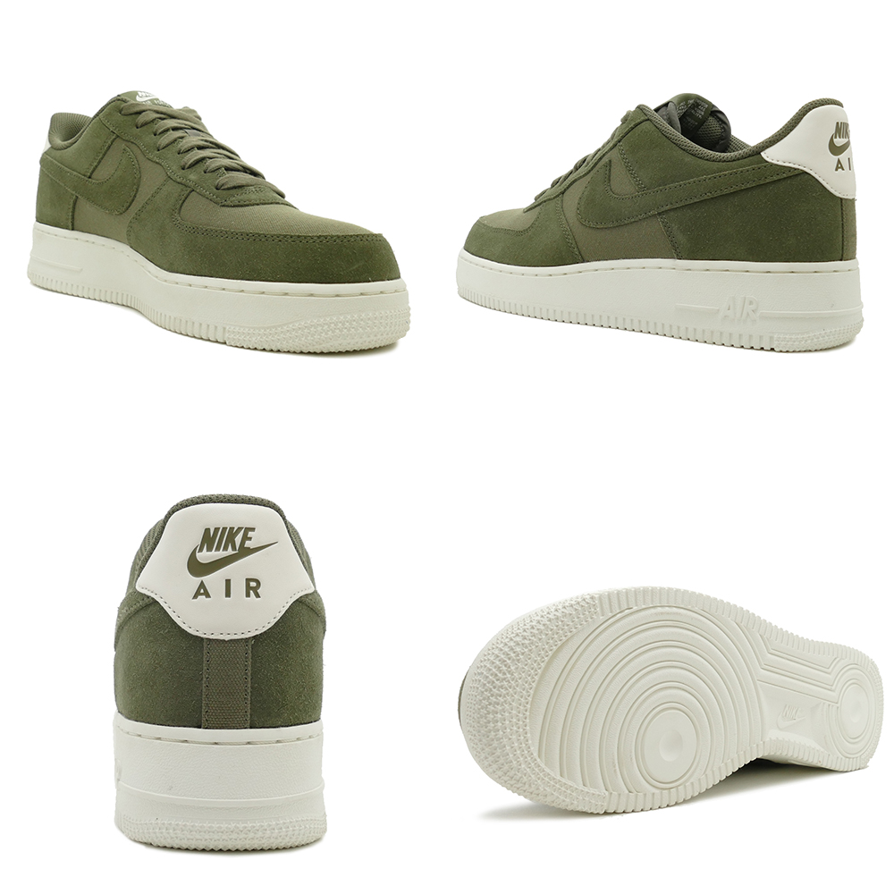 ed432dc2314cac Sneakers Nike NIKE air force 107 suede medium olive   sail men gap Dis shoes  shoes 18FA