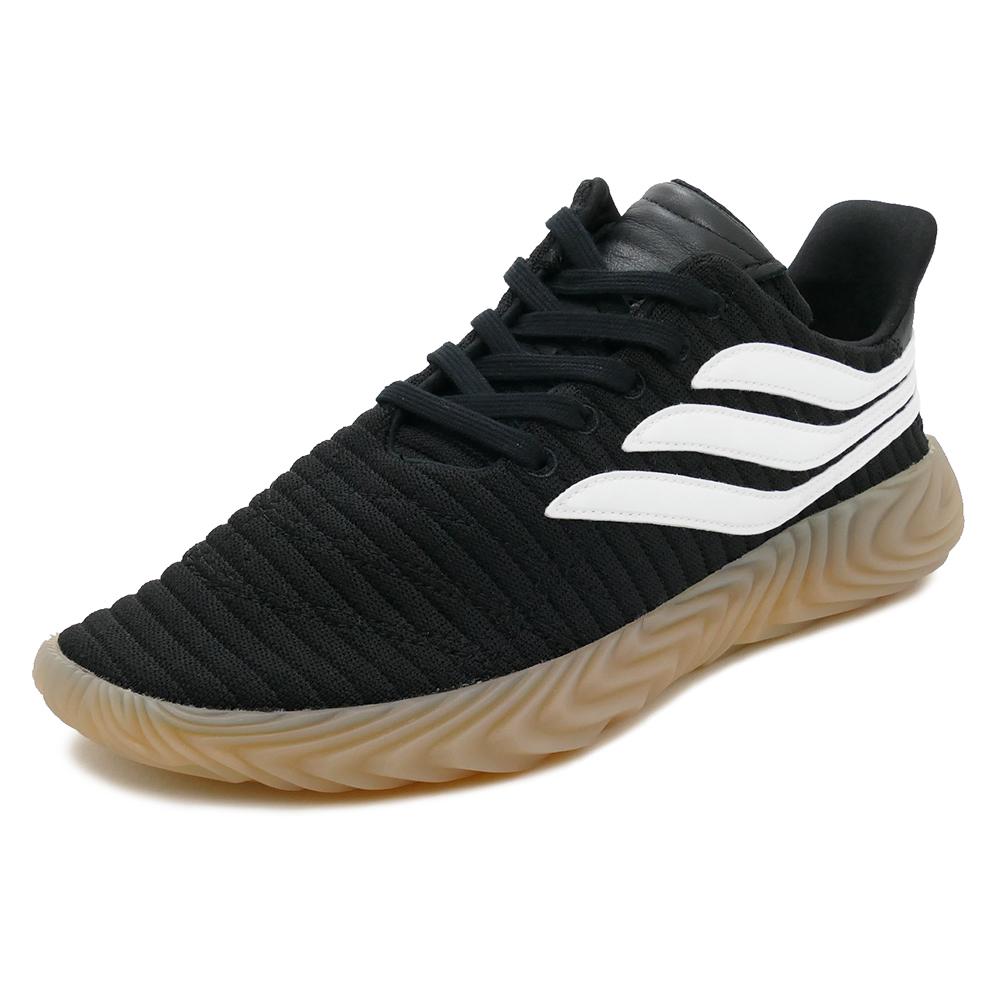 スニーカー アディダス adidas ソバコフ ブラック/ホワイト メンズ レディース シューズ 靴 18FW