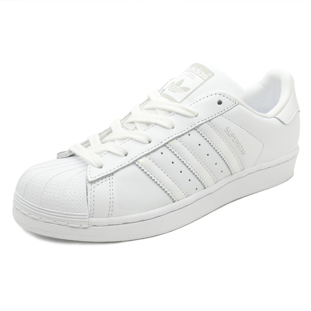 adidas Originals SUPERSTAR W【アディダス オリジナルス スーパースターウィメンズ】ftwr white/ftwr white/grey one(ランニングホワイト/ランニングホワイト/グレーワン)AQ1214 18FW