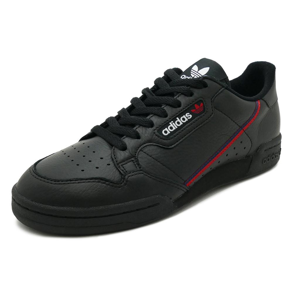 スニーカー アディダス adidas コンチネンタル80 ブラック/ホワイト メンズ レディース シューズ 靴 18FW