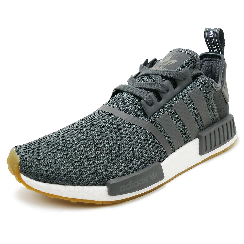 Sneakers Adidas adidas NMD R1 gray   black men gap Dis shoes shoes 18FW 3dc9041e2564