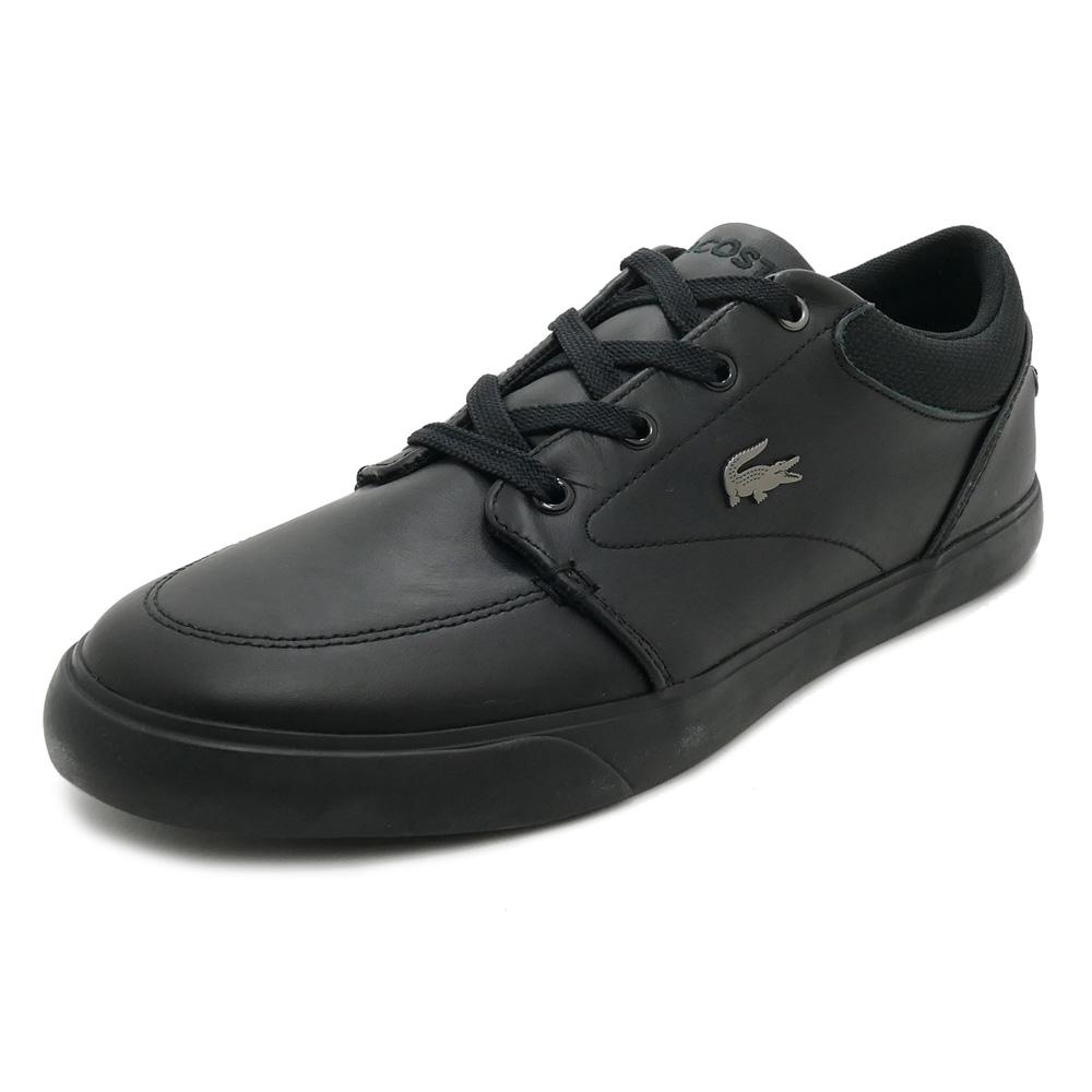 スニーカー ラコステ LACOSTE ベイリス3182 ブラック メンズ シューズ 靴 18FW