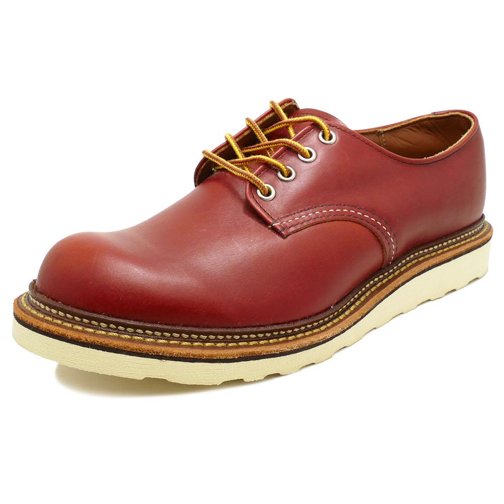 RED WING 8001 Work Oxford Round-toe 【レッドウイング 8001 ワーク オックスフォード ラウンドトゥ】Oro-Russet Portage(オロラセット ポーテージ)