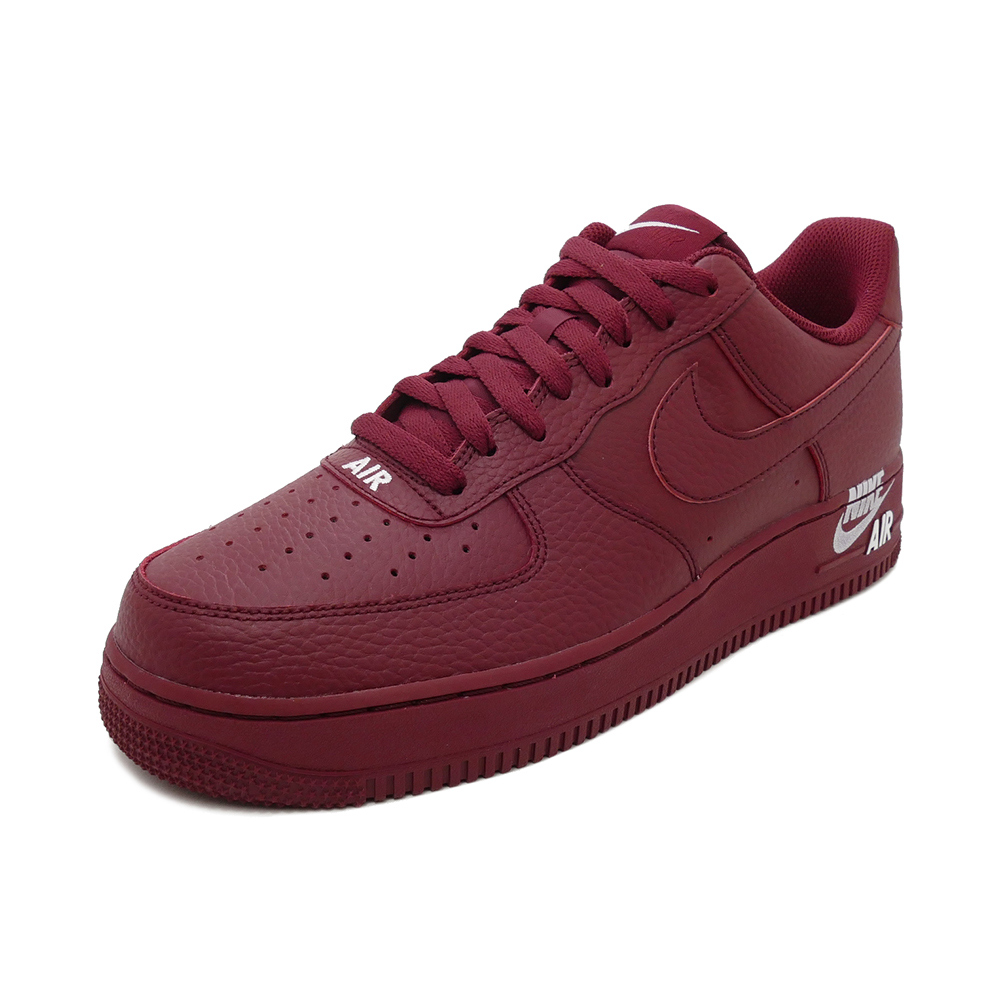 low priced a5200 a7a6b Sneakers Nike NIKE air force 1 07LTHR team red men gap Dis shoes shoes 18HO