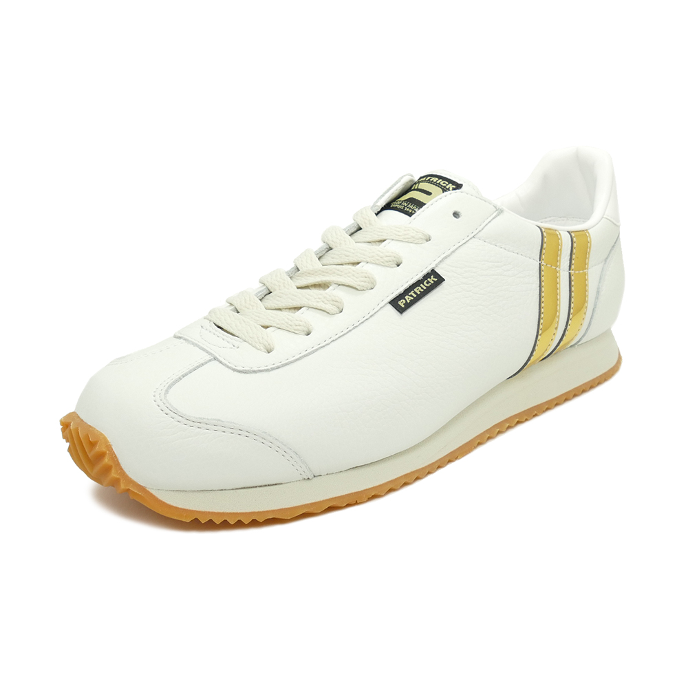 スニーカー パトリック PATRICK ネバダ2 ホワイト/ゴールド メンズ レディース シューズ 靴 19FW