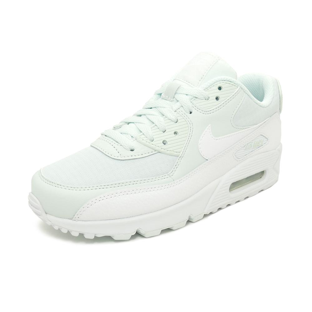 Sneakers Nike NIKE women Air Max 90 ghost aqua white white men gap Dis shoes shoes 19SU