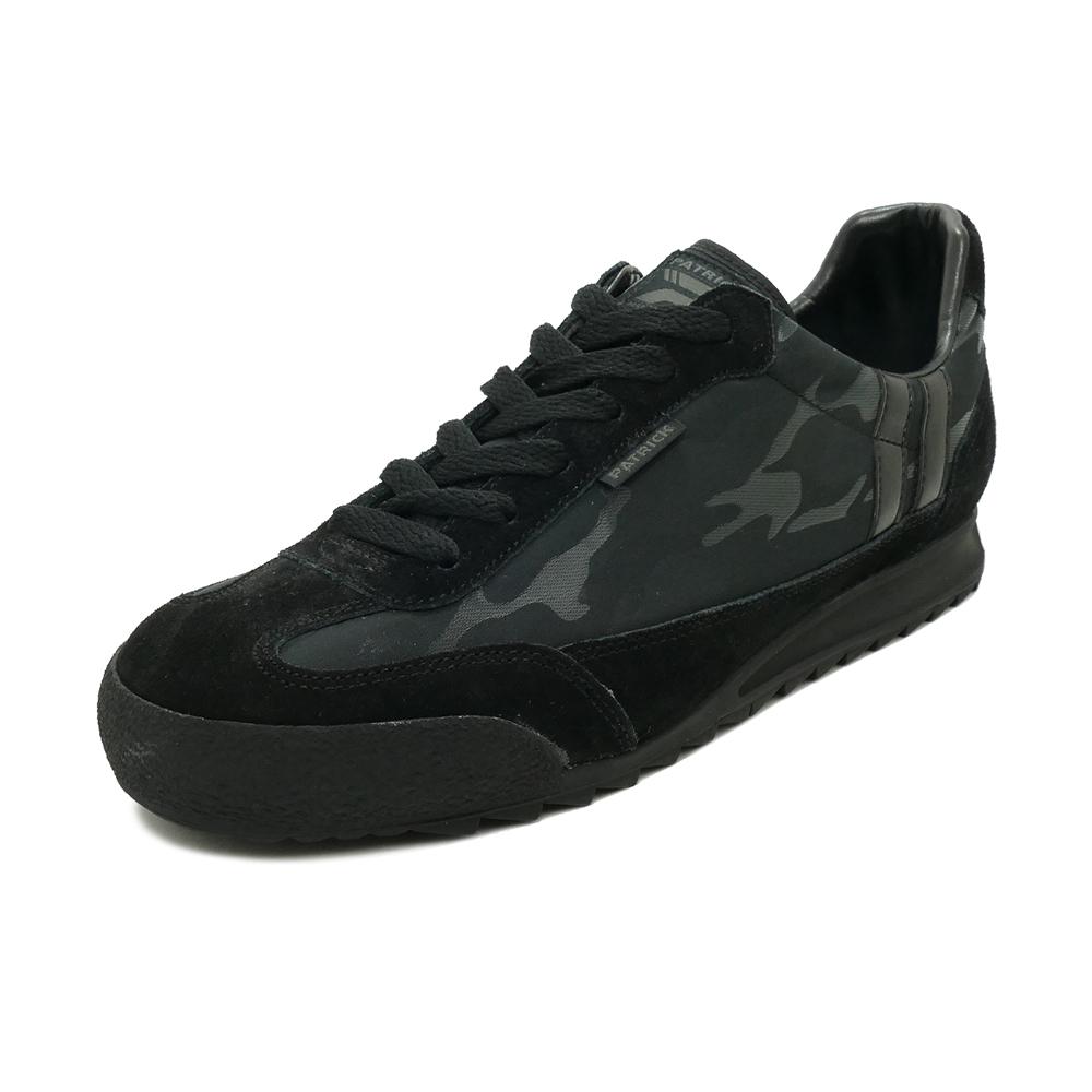 スニーカー パトリック PATRICK ブロンクスカモフラージュ ブラック メンズ シューズ 靴 19AW