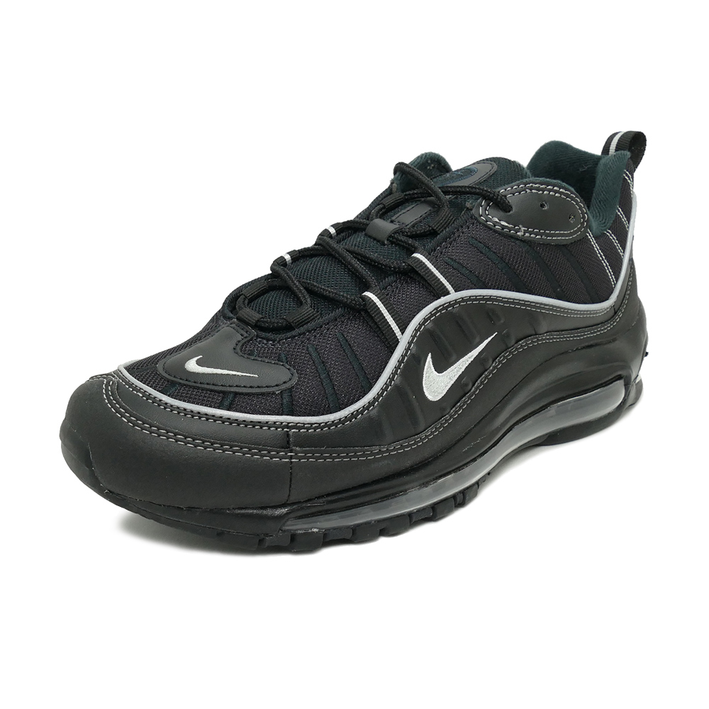 Sneakers Nike NIKE Air Max 98 black metallic silver men gap Dis shoes shoes 19FA