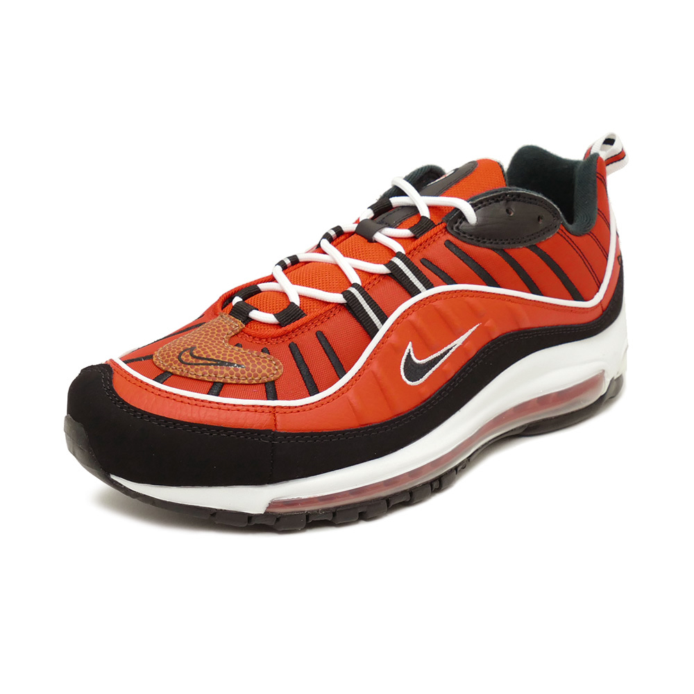 more photos e3b2d e22bd Sneakers Nike NIKE Air Max 98 habanero red / black / white men gap Dis  shoes shoes 19SU