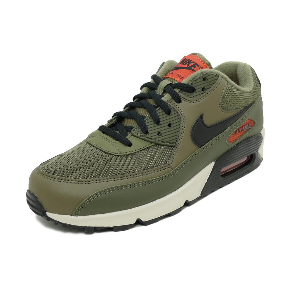 Sneakers Nike NIKE Air Max 90 essential olive black orange khaki men gap Dis shoes shoes 19SU