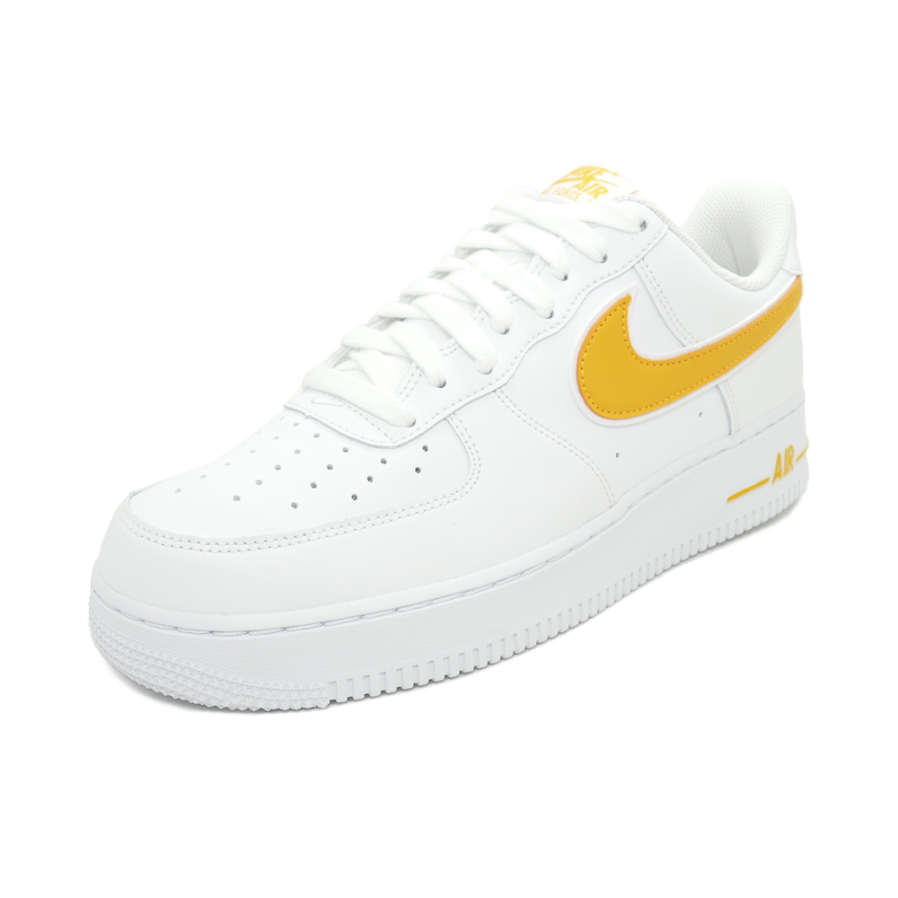 sklep internetowy ogromna zniżka Kup online Sneakers Nike NIKE air force 1073 white / university gold men gap Dis shoes  shoes 19SU