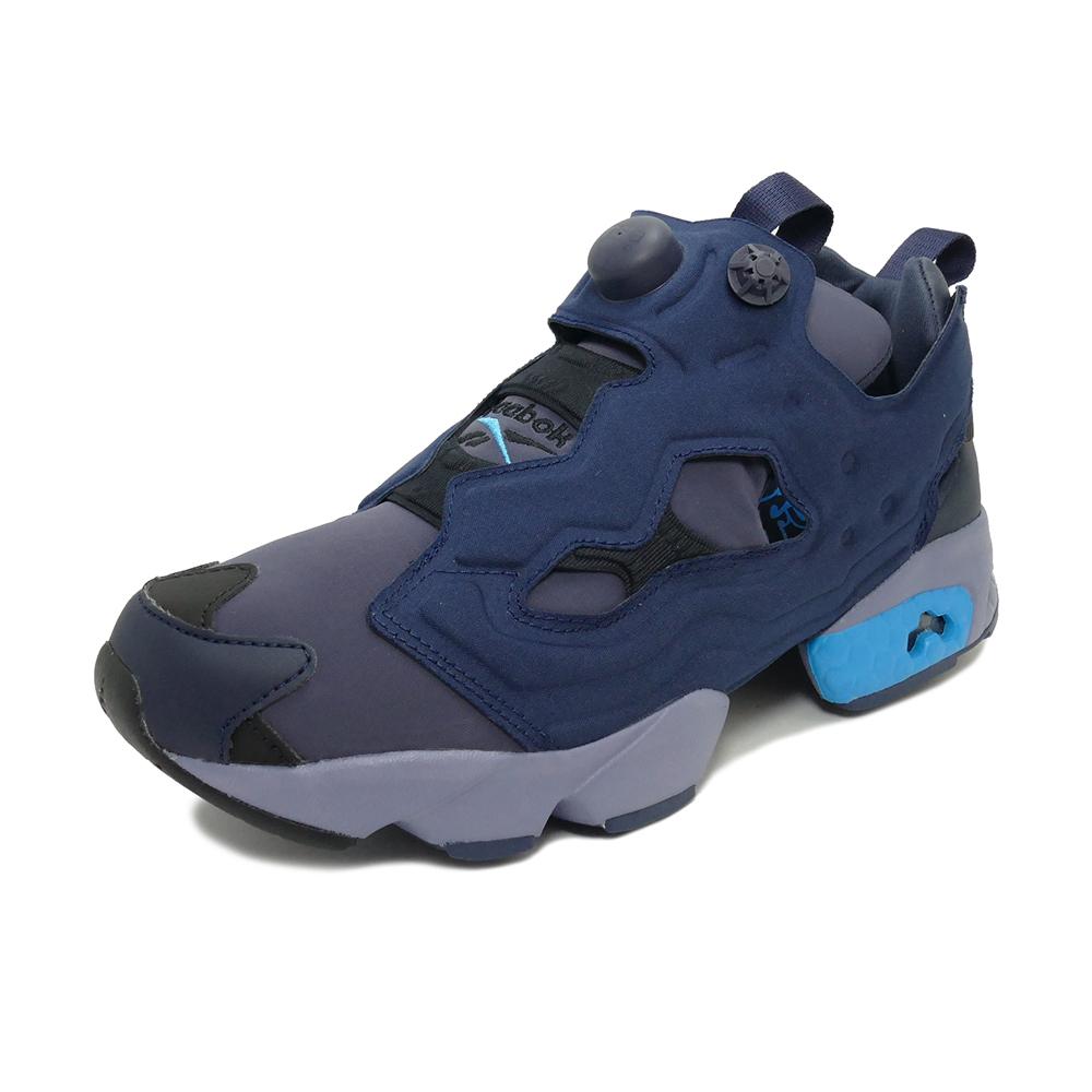 スニーカー リーボック REEBOK インスタポンプフューリーOG ヘリテージネイビー/ブライトシアン メンズ レディース シューズ 靴