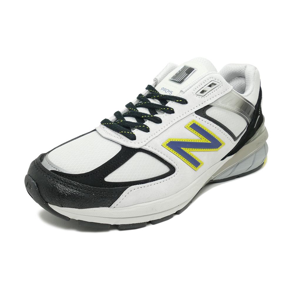 スニーカー ニューバランス NEW BALANCE M990SB5 シルバー/ブラック NB メンズ シューズ 靴 19FW