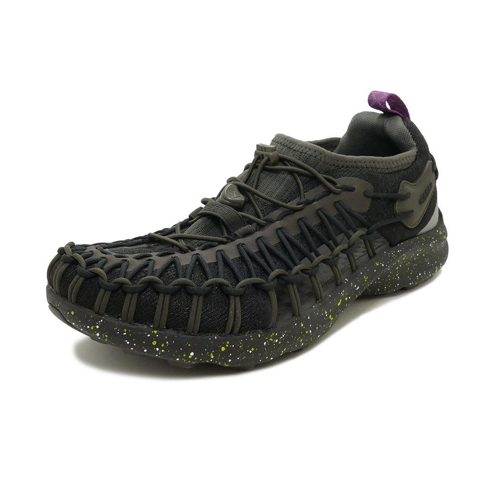 サンダル キーン KEEN ユニークスニーク ブラック スプレー 1022379 メンズ シューズ 靴 20SS