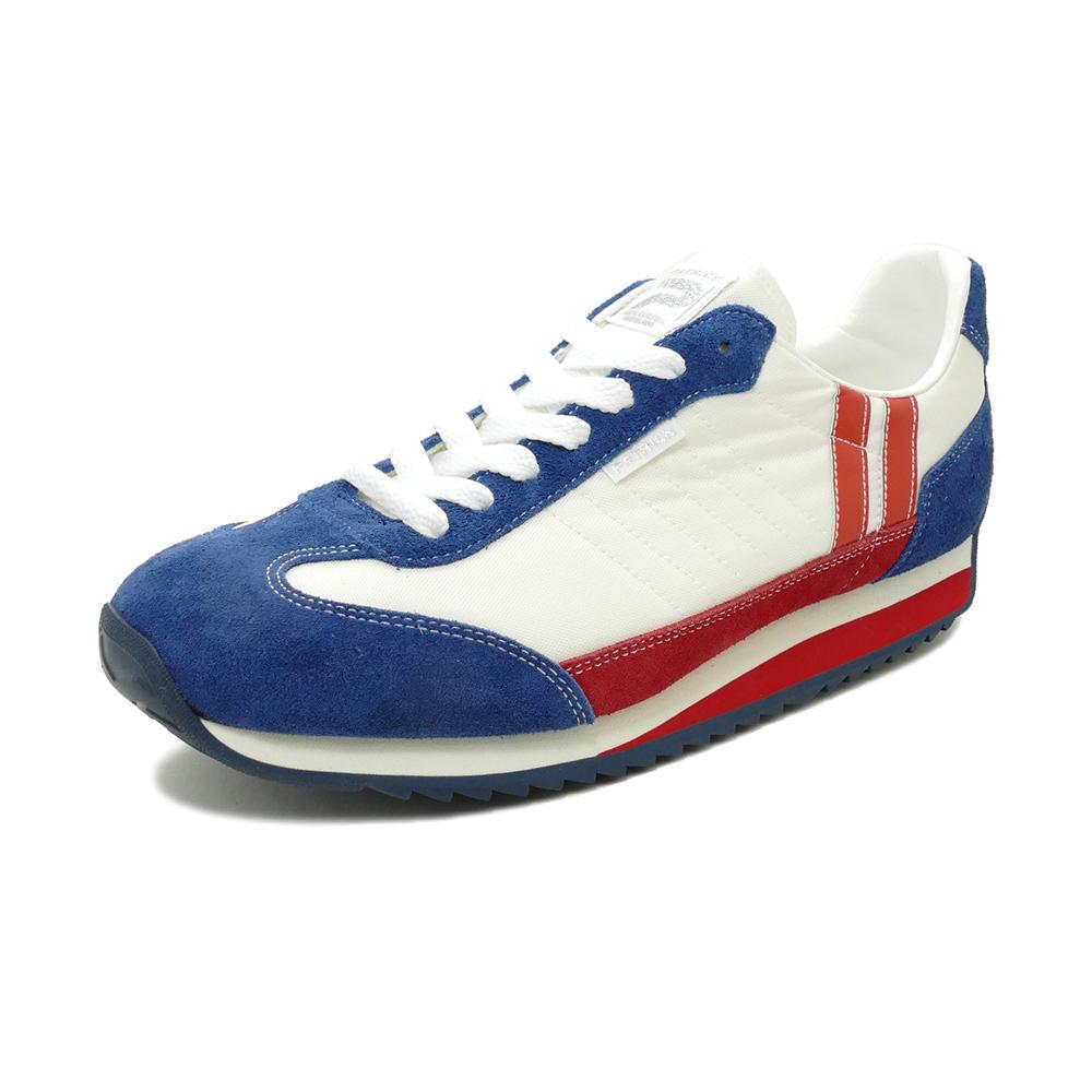 スニーカー パトリック PATRICK マラソンTEKND ホワイト/ブルー/レッド 942009 メンズ シューズ 靴 20SP
