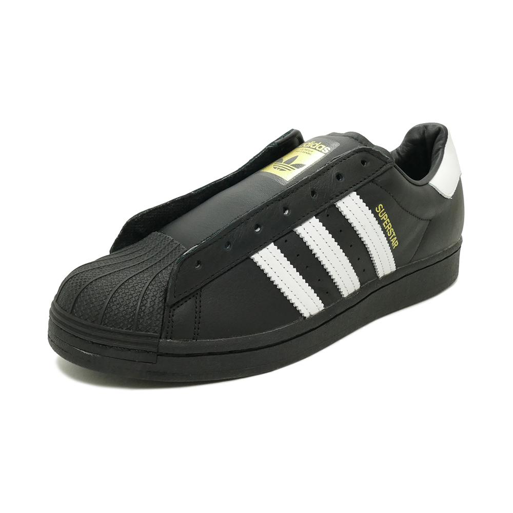 スニーカー アディダス adidas スーパースターシューレースレス コアブラック/フットウェアホワイト FV3018 メンズ レディース シューズ 靴 20Q1