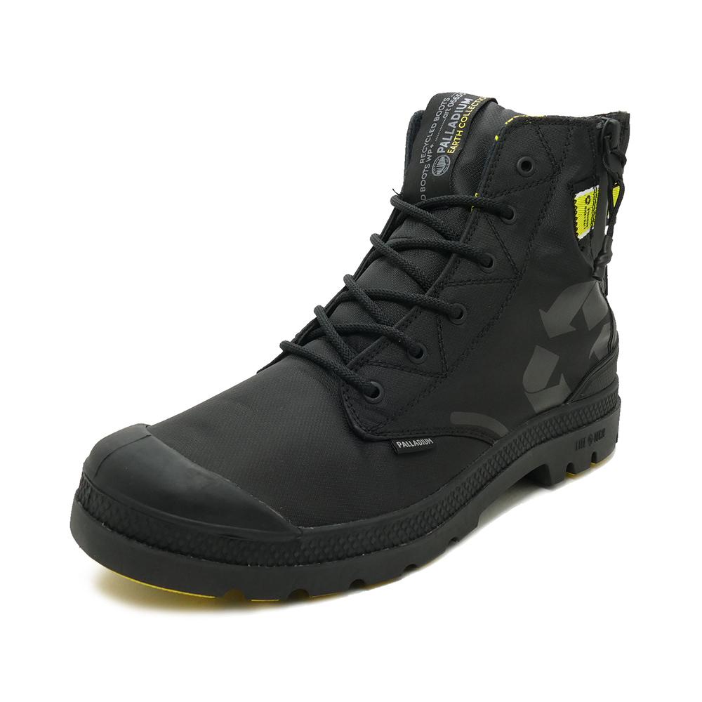 スニーカー パラディウム PALLADIUM エヴォライト+リサイクルウォータープルーフ+ ブラック/ブラック 06655-001 メンズ シューズ 靴 20SS