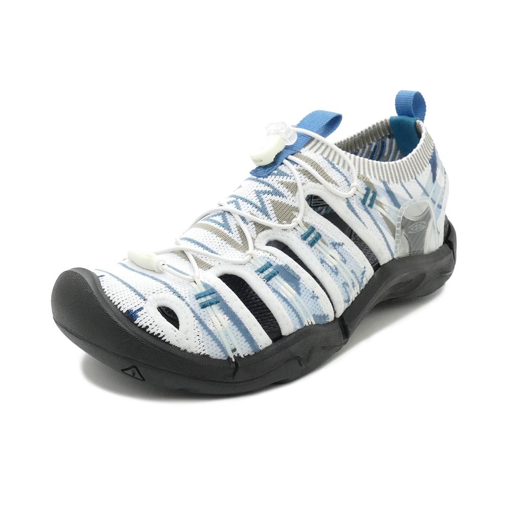 スニーカー キーン KEEN エヴォフィットワン グレイッシュホワイト/ブラック 1021401 レディース シューズ 靴