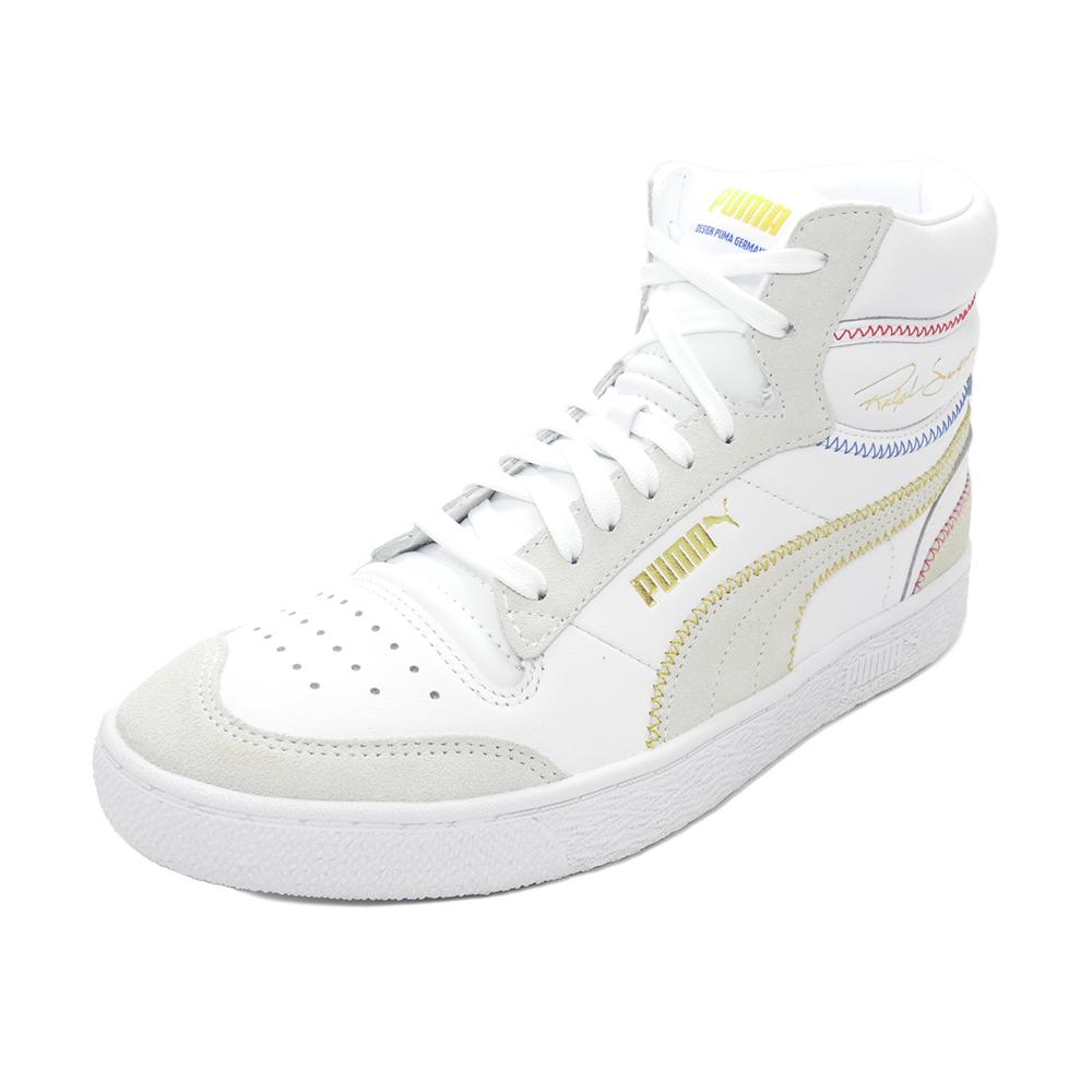 国内送料無料 国内正規品 スニーカー プーマ 物品 PUMA ラルフサンプソンミッドステッチ シューズ 373340-02 メンズ プーマホワイト 当店は最高な サービスを提供します 靴 20FA