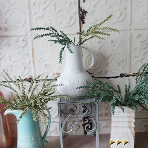 ちょっとしたお部屋の花飾りにどうぞ 着後レビューで 送料無料 造花 グラス イエローグリーン アートフラワー ブルーグリーン 公式ストア シルクフラワー