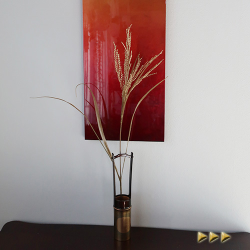 お正月飾りのディスプレイや手作りアレンジの材料に 正月 造花 ゴールド 稲穂 訳あり シルクフラワー 正月飾り アーティフィシャルフラワー フェイクフラワー アートフラワー 新着セール