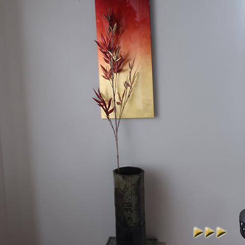 お正月飾りのディスプレイや手作りアレンジの材料に 正月 造花 竹 アーティフィシャルフラワー フェイクフラワー 公式ショップ 特価品コーナー☆ 正月飾り アートフラワー シルクフラワー