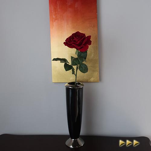 ディスプレイや手作りアレンジの材料に 造花 赤バラ アーティフィシャルフラワー 安い 激安 プチプラ 高品質 フェイクフラワー アートフラワー 公式ショップ シルクフラワー