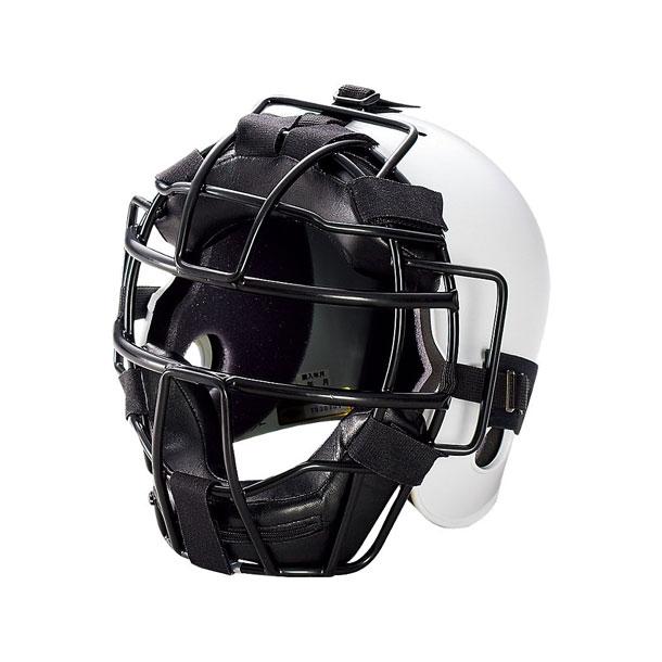 ジュニア硬式用キャッチャーズヘルメット(ホワイト)【ASICS】アシックス(BPH340-01)*26