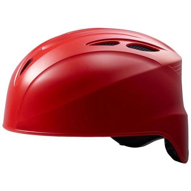 ソフト用キャッチャーズヘルメット(レッド)【ASICS】アシックス(BPH680)*21