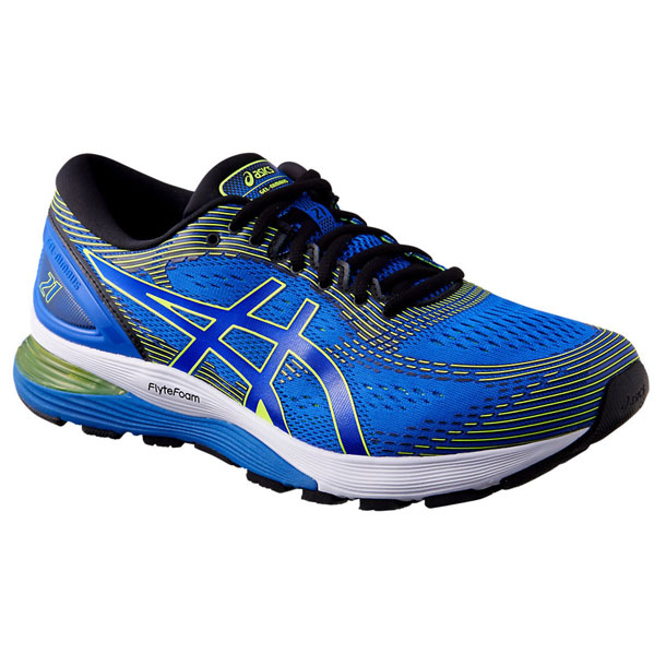 GEL-NIMBUS 21(ILLUSION BLUE/BLACK)【ASICS】アシックス(1011A168)*20