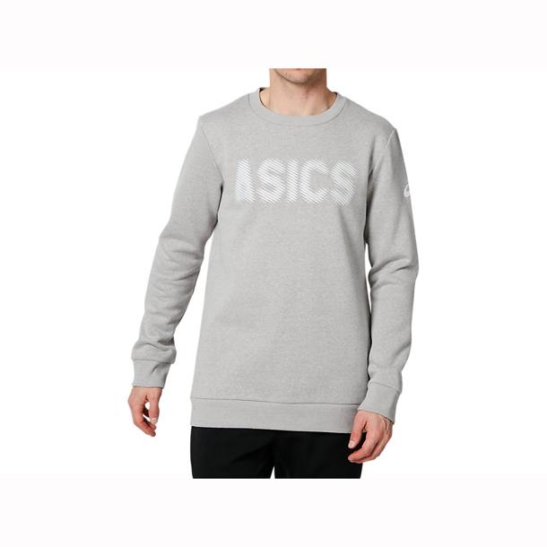 裏起毛ロングスリーブクルートップ 【ASICS】アシックストレーニング メンズ(2031a930-020)*20