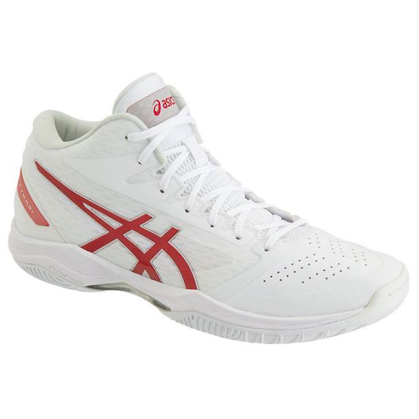 GELHOOP V11(WHITE/CLASSIC RED)【ASICS】アシックス(1061A015)*20