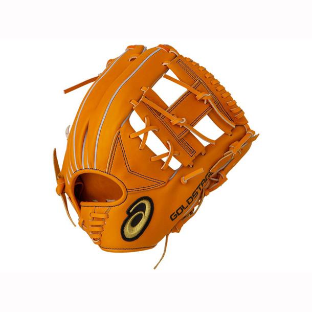 ゴールドステージ(内野手用)【ASICS】アシックス 野球 軟式 一般(3121A424)*20
