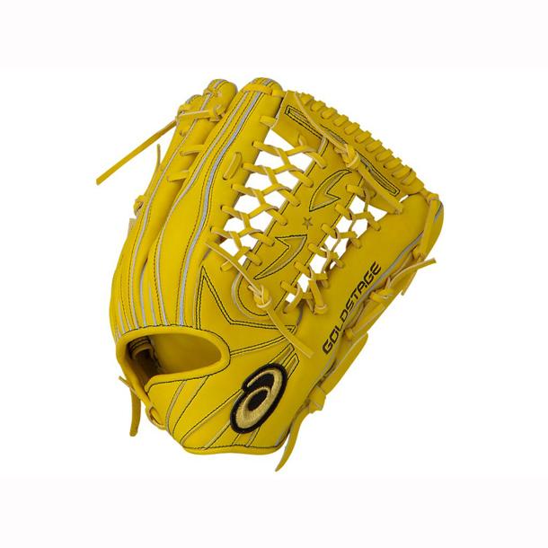 ゴールドステージ(外野手用)【ASICS】アシックス 野球 軟式 一般(3121A416)*24