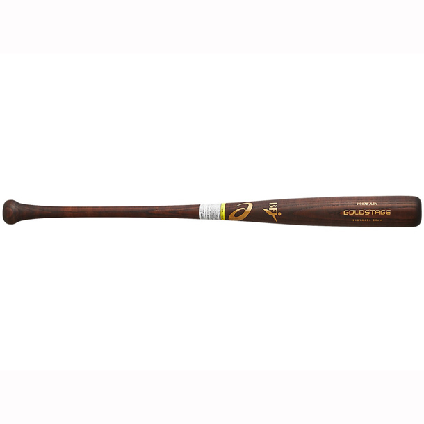ゴールドステージ 硬式用木製バット(ホワイトアッシュ)【ASICS】アシックス 野球 硬式(3121A484)*20