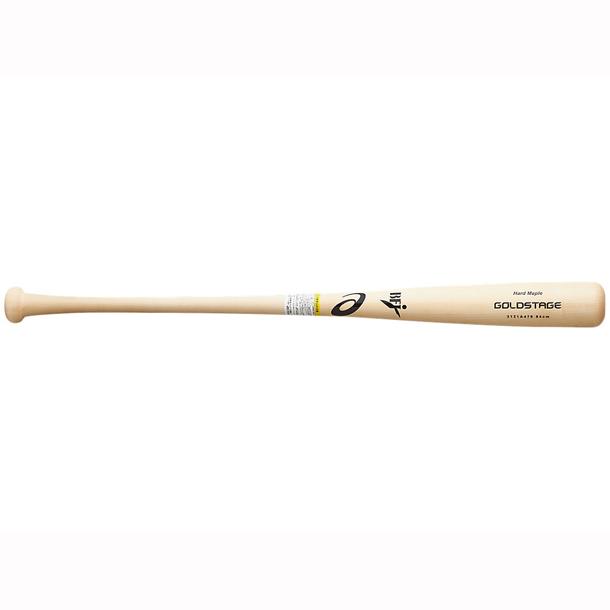 ゴールドステージ 硬式用木製バット(USメイプル)【ASICS】アシックス 野球 硬式(3121A479)*23