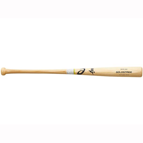 ゴールドステージ 硬式用木製バット(ホワイトアッシュ)【ASICS】アシックス 野球 硬式(3121A484)*23