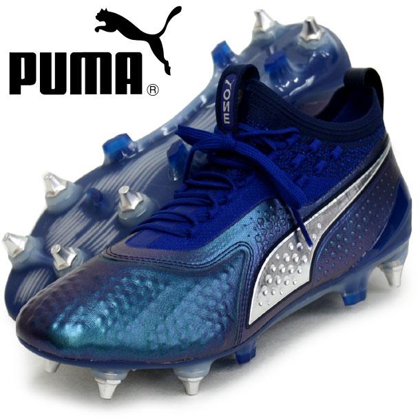 プーマ ワン 1 レザー MX SG【PUMA】プーマ ● サッカースパイクシューズ18FW (104737-02)*38